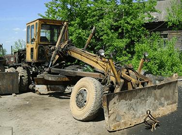 автогрейдер до ремонта